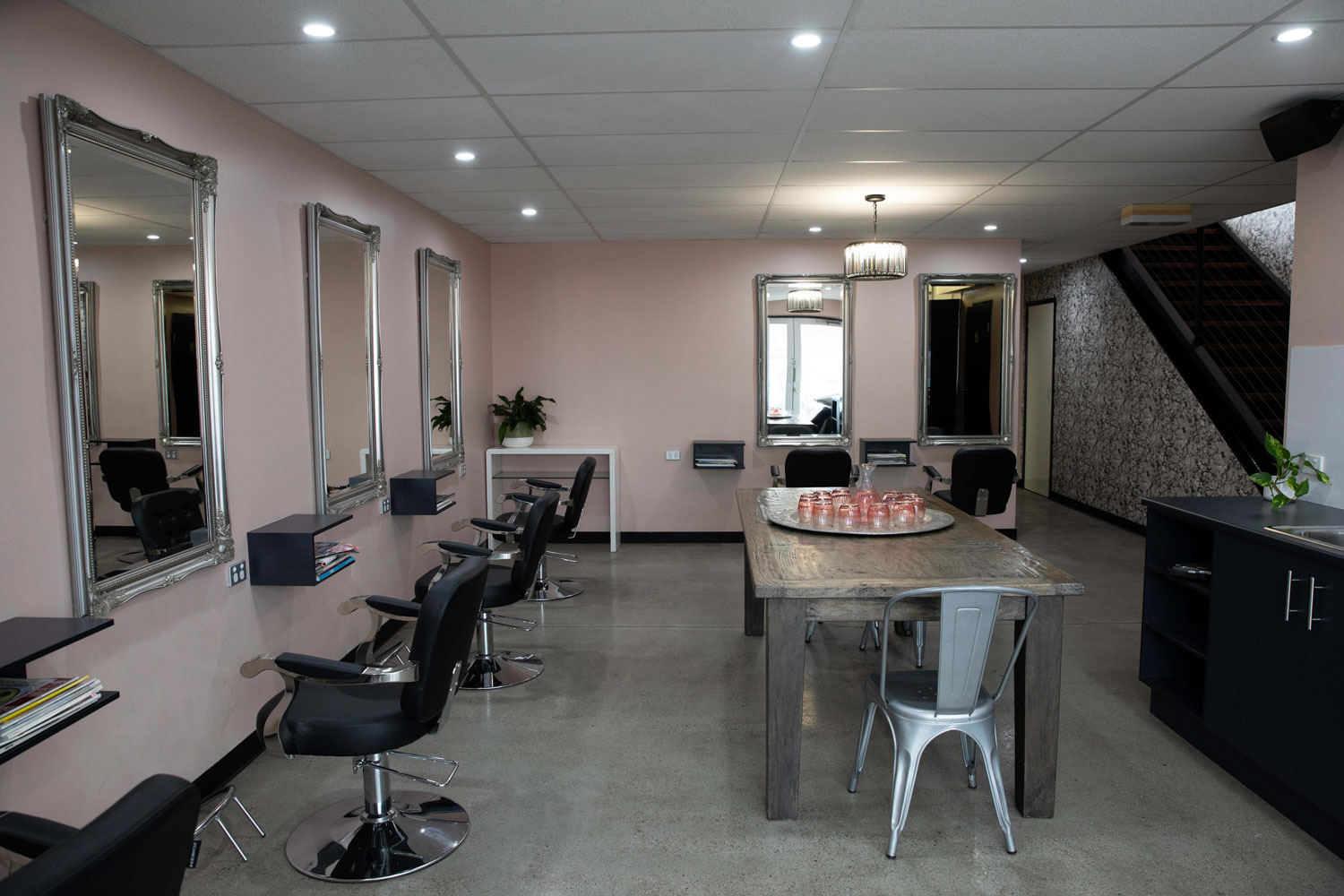 bhair salon basement salon