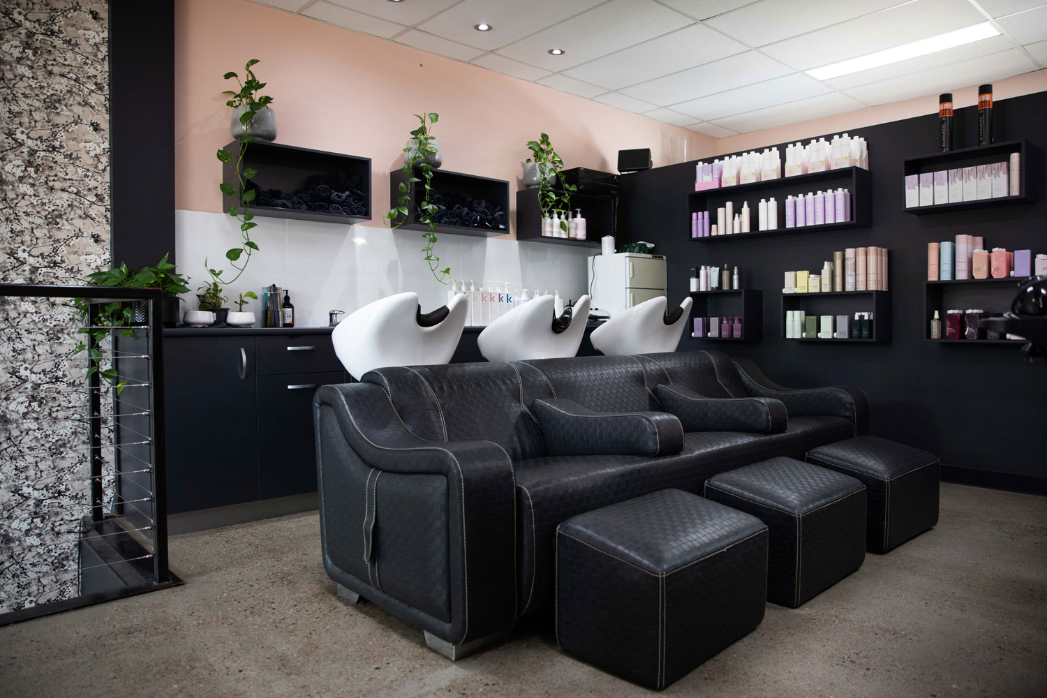 bhair salon shampoo chairs